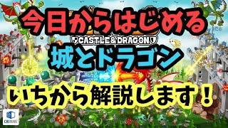 城とドラゴン初心者講座#1(まずすべきことは?)